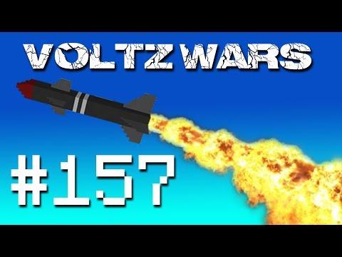 Minecraft Voltz Wars Launching the Fleet #157