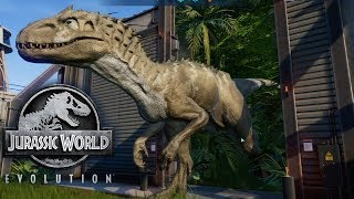 Jurassic World Evolution - Project Noah's Ark - Indominus Rex Issues! #5
