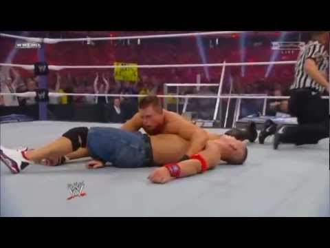 Wwe Wrestlemania 27 John Cena Vs The Miz Highlights(hd) (wwe Championship) video