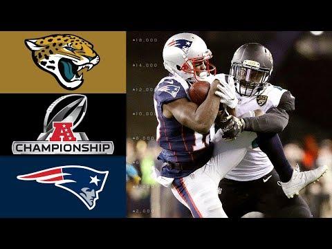 Jaguars vs. Patriots  NFL AFC Championship Game Highlights