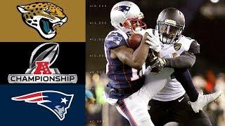 Jaguars vs. Patriots   NFL AFC Championship Game Highlights by : NFL
