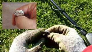 Metal Detecting - Park Hunt Nets Two Silver Rings