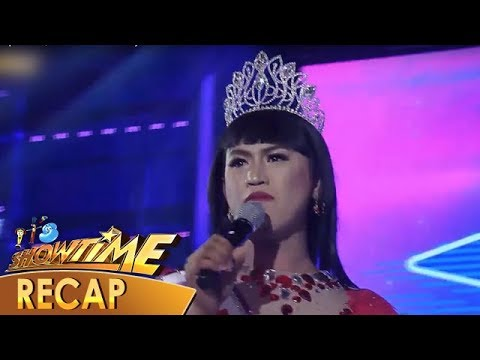 It's Showtime Recap: Miss Q & A contestants' witty answers in Beklamation - Week 38