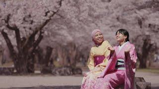 Sakura at Kajo Park : Famous Cherry Blossom Viewing Spot in Yamagata Prefecture 4K