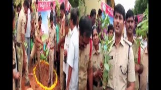 Chittur Police Participated Vanam-Manam Program | SRS Govt College In Puttur Mandal