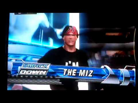 Smackdown vs. Raw 2010 : The Miz(NEW ATTIRE) CAW