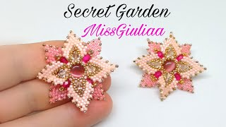 DIY Tutorial: Orecchini e collana Secret Garden ^_^