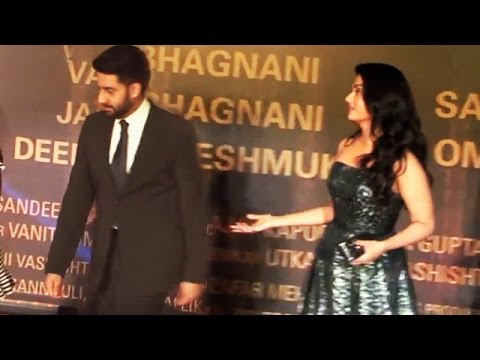Abhishek Bachchan Behaves BADLY With Aishwarya In PUBLIC   Sarbjit Screening
