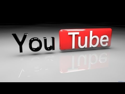 Урок № 2 Cinema 4d Создание логотипа YouTube