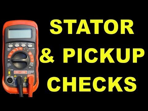 Ignition Pickup And Stator Checks For AC Scooters. ATVs. & More