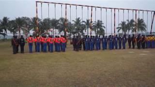 বাংলাদেশ নৌ বাহিনী তৈরীর প্রশিক্ষণ বিদ্যালয় । শিক্ষা সমাপনী কুচকাওয়াজ বি-2016,