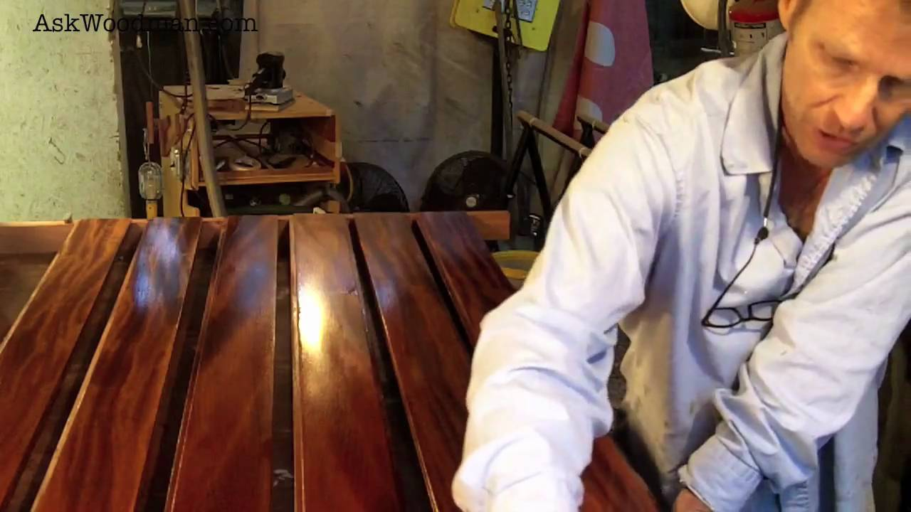 How to Apply Stain, Varnish, Wax, Dye or Oil to Wood how-tos DIY