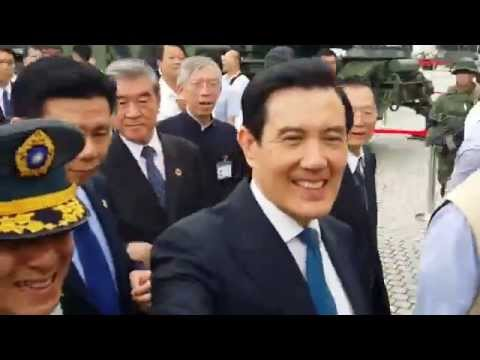 President Ma Ying Jeou in the 90th Anniversary of R.O.C.Armed Forces Establishment