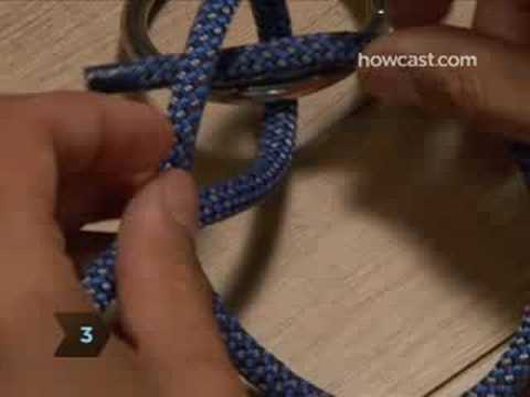 How To Tie a Two Half Hitch Knot Video