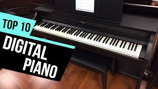 10 Best Digital Pianos Reviews
