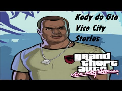 Kody do Gta Vice City Stories na PSP