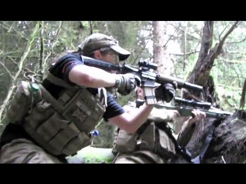 ICS M4 CQBR, Warrior L96 AIRSOFT ACTION, SECTION8 SCOTLAND 2010
