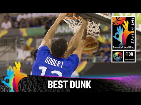 Serbia v France - Best Dunk - 2014 FIBA Basketball World Cup