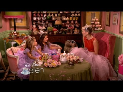 Tea Time with Sophia Grace & Rosie and Miley Cyrus!