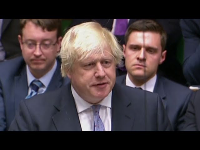 """""""It is not too late to save Brexit"""" Boris Johnson delivers resignation speech"""