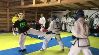 ITF FIGHT EVOLUTION 2017 -  summer camp sparrings 2 vs.2 (HD)