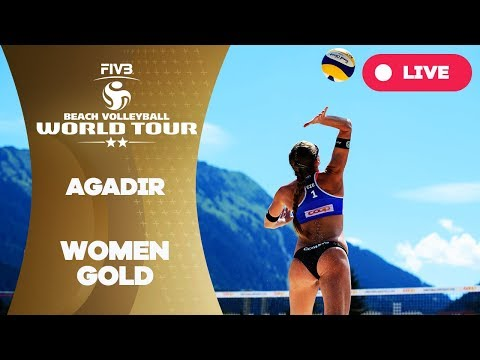 Agadir 2-Star  - 2018 FIVB Beach Volleyball World Tour - Women Gold Medal Match