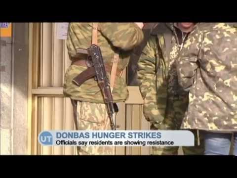 Hungry Donbas Protests: Ukrainian officials say 'Novorossiya' project will collapse