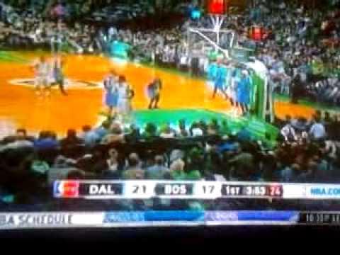 Dallas Mavericks @ Boston Celtics (1/2/2015) footage