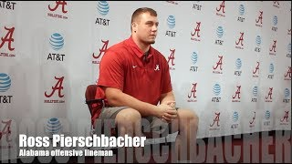 Alabama OL Ross Pierschbacher on Ole Miss
