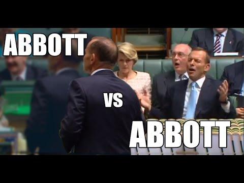 Tony Abbott vs Tony Abbott