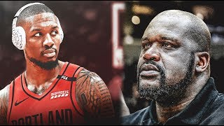Shaq drops a FIRE diss track on Damian Lillard who DESTROYS SHAQ in his Rap Response