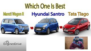 Best Small Hatchback | Wagon R VS Santro VS Tiago in Hindi