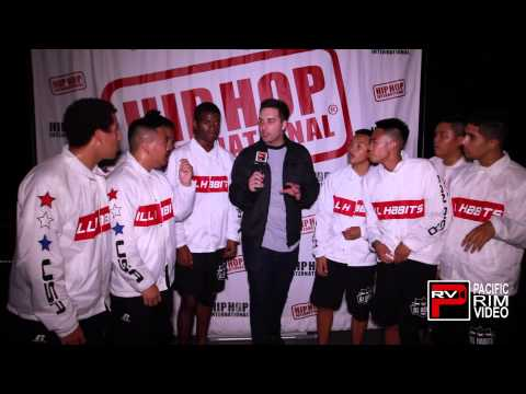 2015 HHI World Finals Backstage interview with Ill Habits of the USA