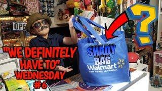 "What's Inside Carls' Shady Walmart Bag? ""WeDefinitelyhaveto"" Wednesday #6"