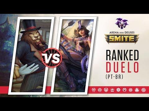 Anhur vs Neith | RAWRR - Ranked Duelo | Smite Season 5 (PT-BR)