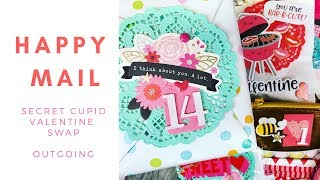 See how I reused my FabFitFun Box to create some Valentine's Day Happy Mail