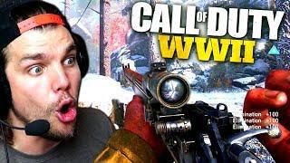 MON AVIS SUR LE SNIPER !! - Call of Duty: World War 2