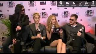 30 Seconds to Mars Video - 30 SECONDS TO MARS New Funny Moments 2011 (8)
