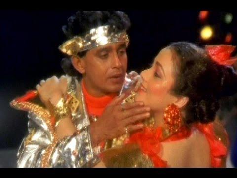 Chand Se Aaya Hoon Full Song | Hisaab Khoon Ka | Mithun Chakraborty, Mandakini