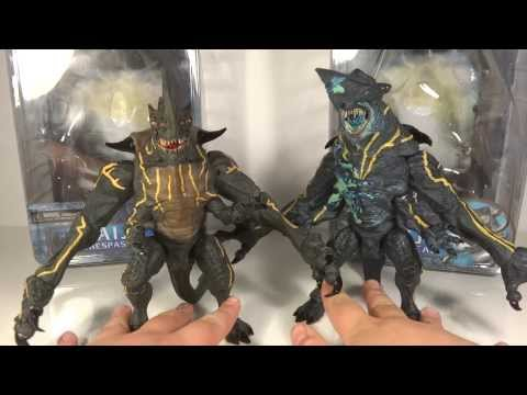 Pacific Rim Kaiju Knifehead & Trespasser NECA Series 3 Toy Review