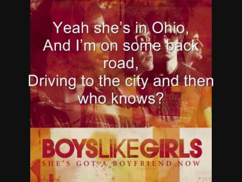 She's Got a Boyfriend Now by Boys Like Girls (With lyrics on screen!) Video