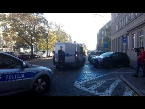 Atak W Sądzie Na Małopolskiej W Szczecinie
