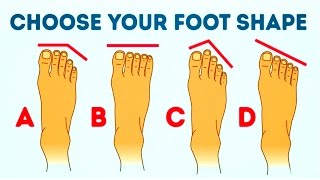 WHAT YOUR FOOT SHAPE REVEALS ABOUT YOU