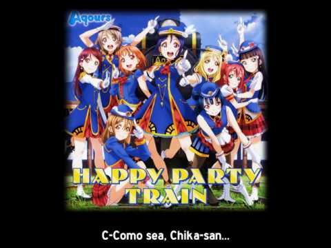 [Sub Español] Love Live! Sunshine!! Aqours  - Drama 1 HAPPY PARTY TRAIN