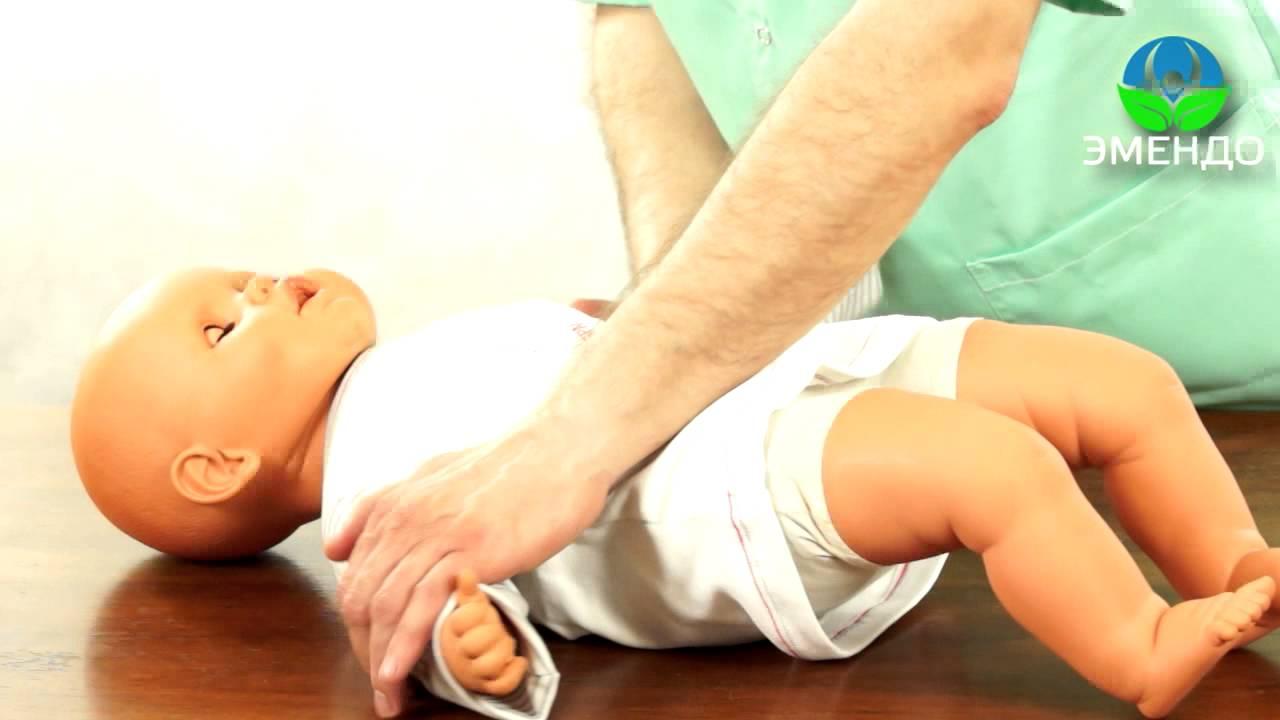 Пошаговое массажа детям