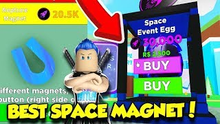 Playing The NEW SPACE EVENT In MAGNET SIMULATOR And I GOT EVERYTHING!! (Roblox)
