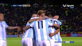 Ecuador Vs Argentina (1-3) / Eliminatorias Rusia 2018