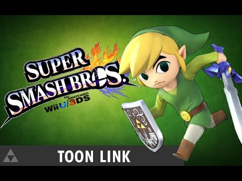 Toon Link Meteor Smash Montage! In Super Smash Bros For Wii U video