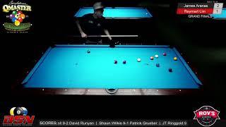 FINALS MATCH 12: Reymart Lim vs James Aranas   Barry Behrman Memorial Spring Open 9 Ball 2019