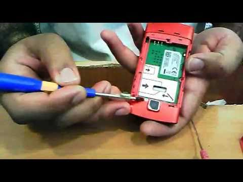 Nokia 5250 Disassemble/ Mobile Phone traning Urdu